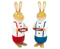 Rabbits 2 -fold assorted approx. 33cm