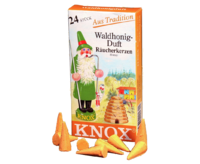 Smoking Insence KNOX PU 50 Packs - 24 cones per pack - Foresthoney