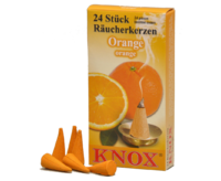 Räucherkerzen KNOX 50 * 24 St./Pkg. - Orange
