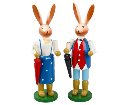 Rabbit 2-fold assorted 16 cm