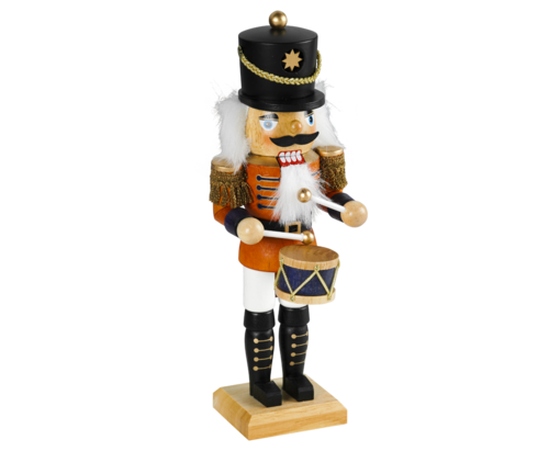 Nutcracker 34 cm coloured - Drummer  PU 12