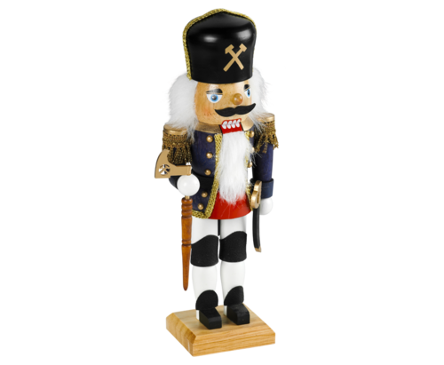 Nutcracker 45 cm coloured - Miner  PU  6