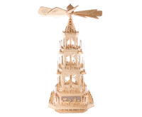 Pyramid 100 cm Nativity, with electric Motor and Lighting - 3 floors