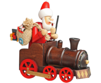 Insence Smokeman Train approx. 15 * 10 * 15 cm - Santa