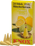 Räucherkerzen KNOX 50 * 24 St./Pkg. - Lemon
