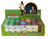 KNOX incense cones in Display Box  -  70 Packs * 24 pieces current popular assorted""